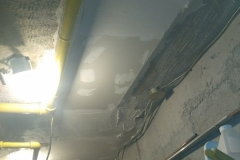 Boiler Room Drywall Repair After