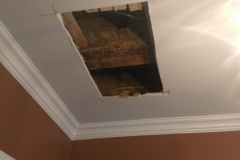 Drywall Repair Before