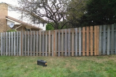 Fence Repair After