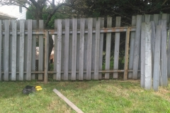 Fence Repair Before
