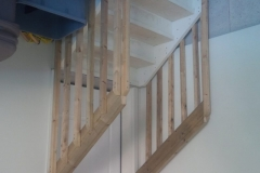 Garage Stair Railings