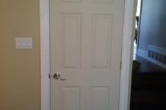 New door Installation With Cat Door