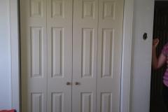 New Closet Doors And Trim