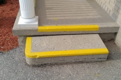 Front Steps Line Painting
