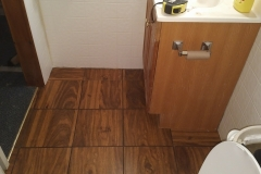 Bathroom Floor After