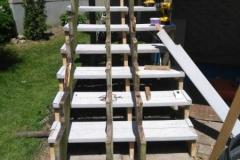 Stairway Rebuild During