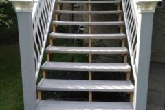 Stairway Rebuild Before