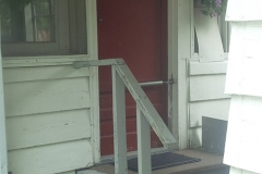 Porch Entrance Before