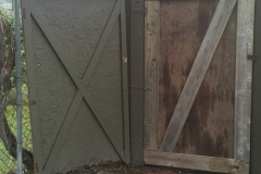 Shed Door Rebuild & Replace