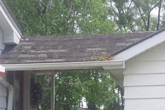Roof Front View Before
