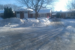 Private Driveway Snow Removal After