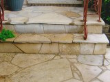 Handyman Flagstone Steps