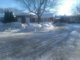 Handyman Private Driveway Snow Removal After