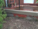 Handyman Concrete Porch Repair After Font View